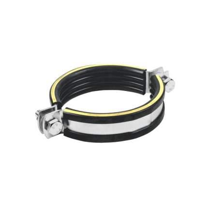 Хомут крепежный сталь оц с резиновой прокладкой SBC (Дн 133-137) М12 б/к Mupro 122018