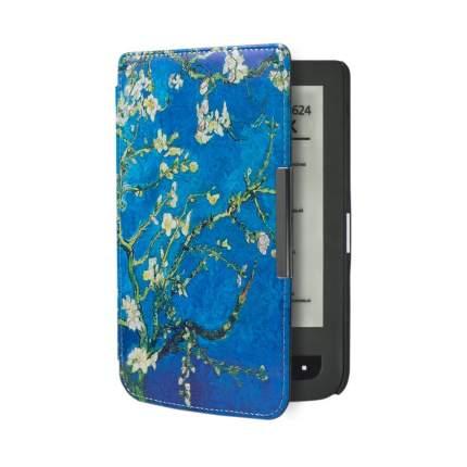 Чехол GoodChoice Slim для Pocketbook 614/615/624/625/626/ 641 Flowers