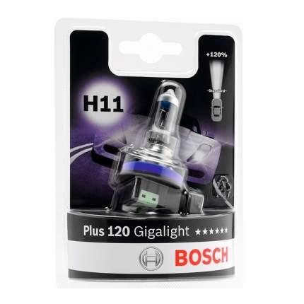 Лампа Bosch 1987301133 12V 55W H11 Gigalight Plus 120 (Блистер 1 Шт)