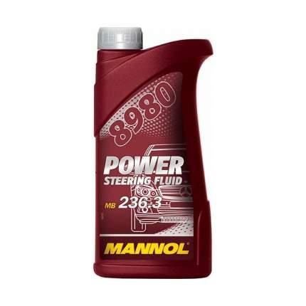 Гидравлическая жидкость 8980 MANNOL POWER STEERING FLUID 0,5 л.