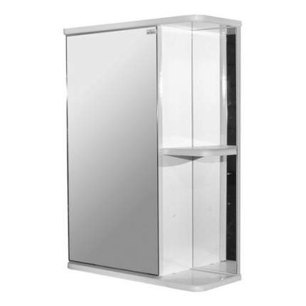 Шкаф MIXLINE Стандарт 50 левый,  с зеркалом,  подвесной,  500х700х190 мм,  белый [525513]