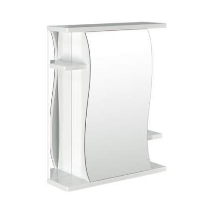 Шкаф MIXLINE Классик 55 правый,  с зеркалом,  подвесной,  550х676х190 мм,  белый [525511]