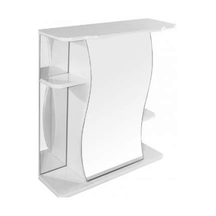 Шкаф MIXLINE Венеция с зеркалом,  подвесной,  600х690х240 мм,  белый [77001136]