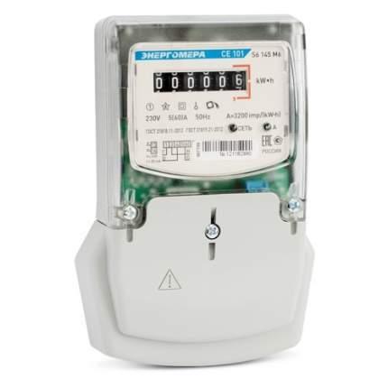 Счетчик электроэнергии Энергомера CE 101 S6 145 M6 одноф. Однотариф