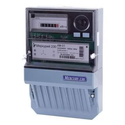 Счетчик электроэнергии Инкотекс Меркурий 230 AM-01 трехф. однотариф.
