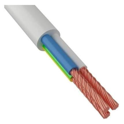 Провод Rexant ПВС 3x0.75мм2 10м ГОСТ медь белый (01-8042-10)