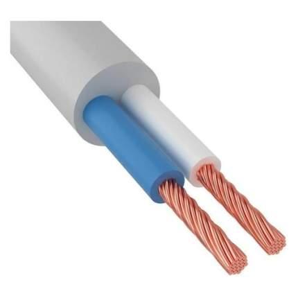 Провод Rexant ПВС 2x0.75мм2 50м ГОСТ медь белый (01-8030-50)