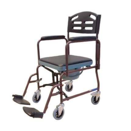 Кресло-коляска с туалетным устройством складное