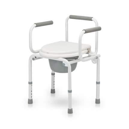 Кресло-туалет AKKORD-KLAPP серый