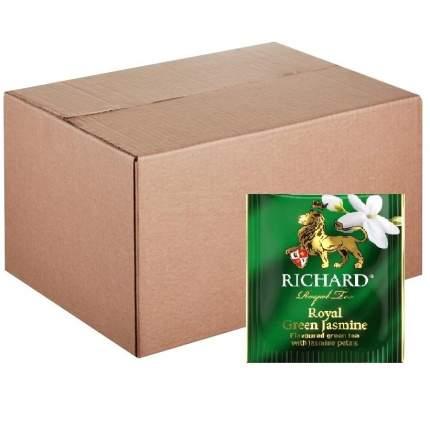 """Чай зеленый Richard """"Royal Green Jasmine"""", с добавками, 200 сашетов"""
