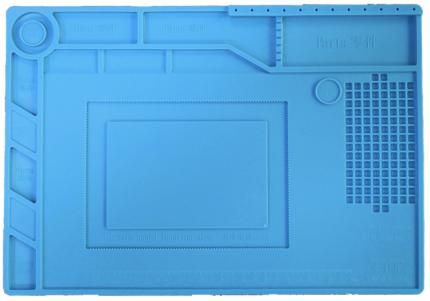 Паяльная станция, теплоизоляционный магнитный коврик S150, 39 x 27 см