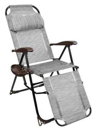 Кресло-шезлонг Nika КШ3/4 15081662 серый
