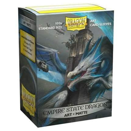 Протекторы для карт Dragon Shield Матовые протекторы Empire State Dragon (100 штук)