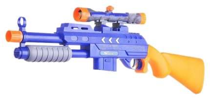 Ружье Zhoule Toys Super Shoot 2 в 1 гелевые пули и мягкие пули