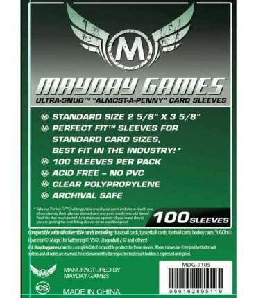 Протекторы для настольных игр Mayday Almost A Penny (66x91) 100 штук
