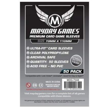 Протекторы для настольных игр Mayday Premium Magnum Lost Cities (70x110) - 50 штук