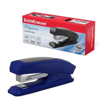 Степлер №24/6 ErichKrause® Elegance Half-strip до 30 л ассорти в коробке по 1 шт