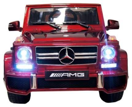 Детский электромобиль Harleybella Mercedes Benz G63 LUXURY 2.4G Red HL168-LUX-RED