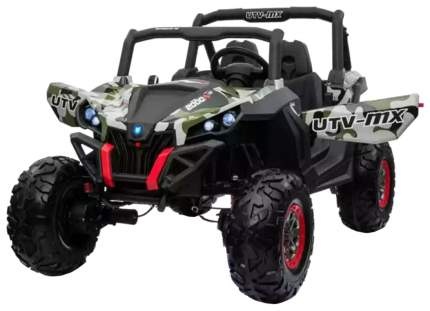 Двухместный полноприводный электромобиль Camouflage UTV-MX Buggy 12V XMX603-GREEN-PAINT