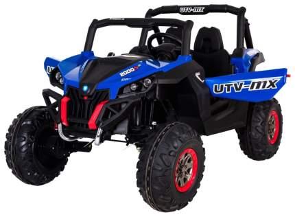 Двухместный полноприводный электромобиль Blue UTV-MX Buggy 12V 2.4G XMX603-BLUE