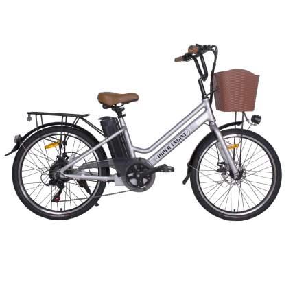 Электровелосипед HIPER HE-B62 White Silver