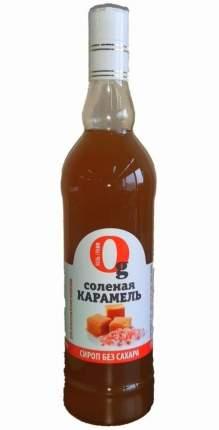 Низкокалорийный сироп для кофе BARISTA Соленая карамель, 700мл