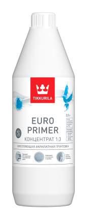 Грунтовка укрепляющая Tikkurila Euro Primer глубокого проникновения 0,9 л