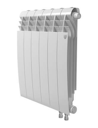 БиМеталлический радиатор Royal Thermo Biliner Bianco Traffico 350 V 10 секций с НПП