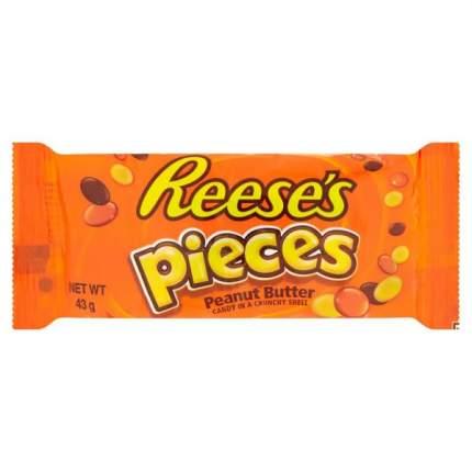 Драже в глазури Reese's с арахисовой пастой 43г США