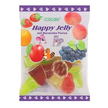 Желе фруктовое COCON Happy Jelly Ассорти 16х19г  Малайзия