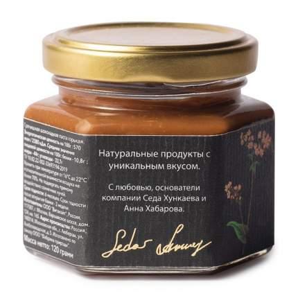 """Паста """"Гречишная"""" шоколадно-ореховая горькая  Nature's Own Factory 120 г, Россия"""