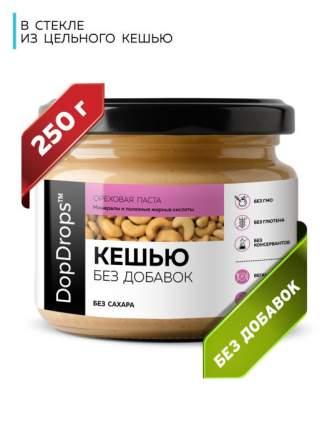 Паста Ореховая DopDrops Кешью, 250 г