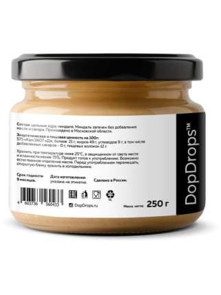Паста Миндальная DopDrops без добавок, 250 г