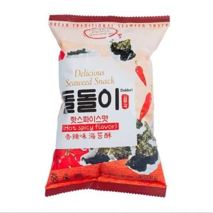 Морская капуста Doldori в кляре со вкусом перца 30г Южная Корея