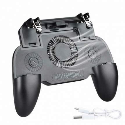 Джойстик для мобильного телефона с кулером SR Game Controller (Черный)