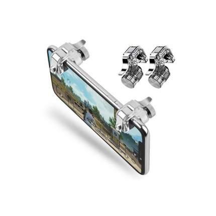 Джойстик для мобильного телефона игровой триггер L1R1 R11 (Серебро/прозрачный)