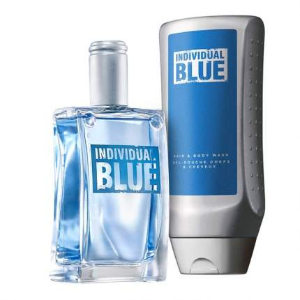 "Набор Avon ""Individual Blue"" for him"