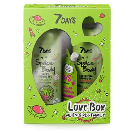 Набор 7 DAYS, Love Box Alien Girls Family