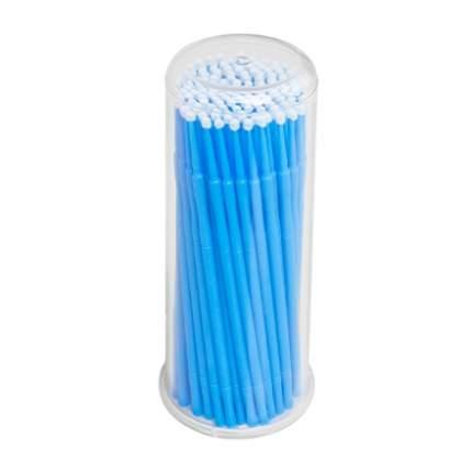 Микрощеточки в баночке IRISK, L, синие, 90-100 шт.