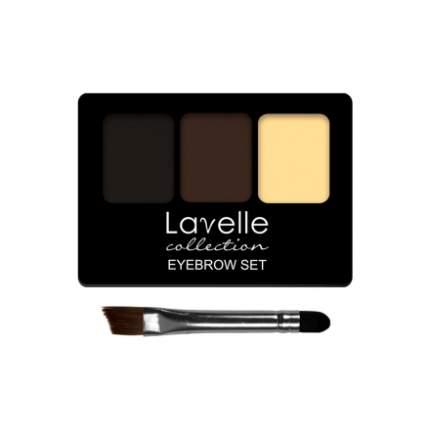 Набор для бровей Lavelle Collection тон 01