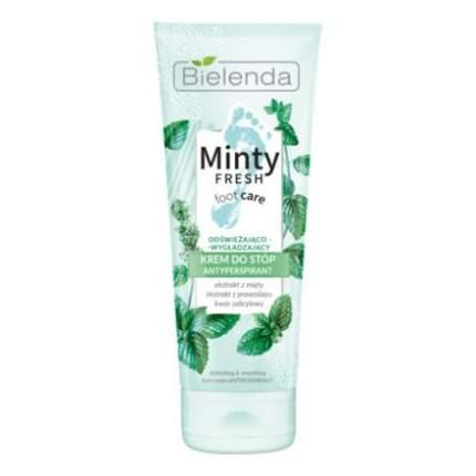 Крем-антиперспирант для ног Bielenda, Minty Fresh Foot Care, 100 мл