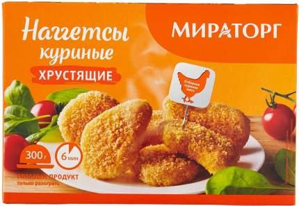 Наггетсы Мираторг куриные хрустящие, 300 г