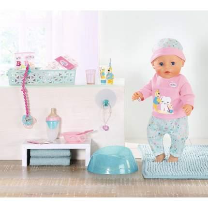 Кукла интерактивная Zapf Creation BABY born Чистим зубки, 43 см