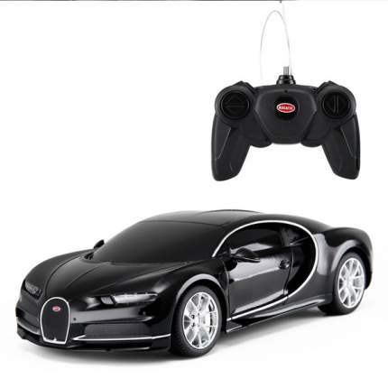 Машина на радиоуправлении Rastar Bugatti Chiron черный