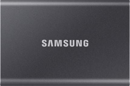 Внешний диск SSD Samsung T7 2TB Gray (MU-PC2T0T/WW)