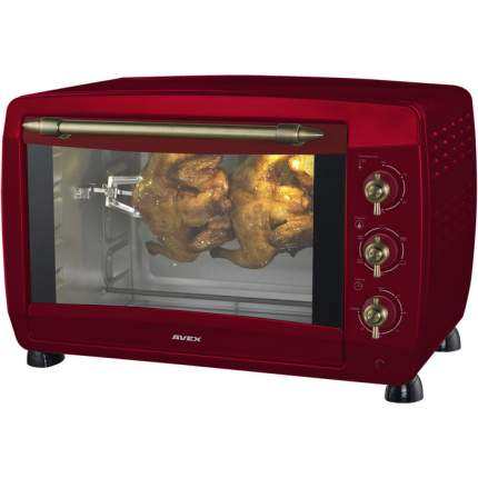 Мини-печь Avex TR450RRСL Red