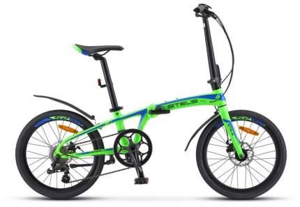 Велосипед Stels Pilot 680 MD 20 V010 2019 One Size зеленый/синий