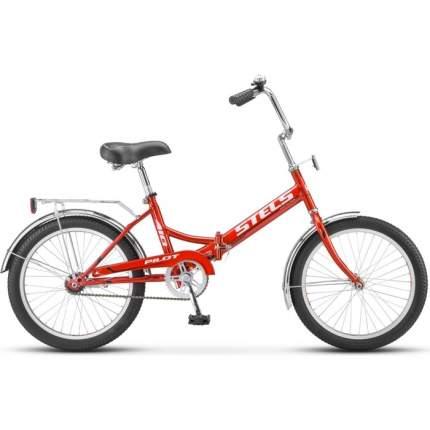 """Велосипед Stels Pilot 410 20 Z010 2018 13.5"""" малиновый"""