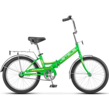 """Велосипед Stels Pilot 310 20 Z011 2018 13"""" зеленый/желтый"""