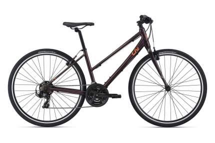 Велосипед Giant Alight 3 2021 S фиолетовый